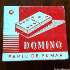 Papel de fumar: PAPEL DE FUMAR DOMINÓ. Lote 196887276