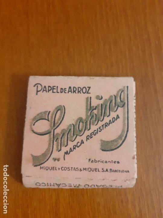 LIBRITO DE PAPEL DE FUMAR SMOKING CON HOJAS (Coleccionismo - Objetos para Fumar - Papel de fumar )