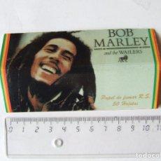 Papel para cigarros: PAPEL DE FUMAR BOB MARLEY & THE WAILERS TAMAÑO LARGO KING SIZE MADE IN SPAIN. Lote 200833426