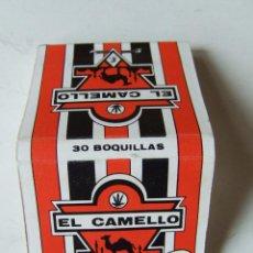 Papel para cigarros: PAPEL DE FUMAR CARTERITA ESTUCHE DE FILTROS BOQUILLAS TIPS EL CAMELLO MADE IN SPAIN. Lote 200858558