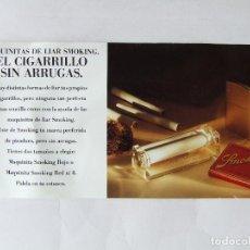 Papel para cigarros: FLYER HOJA PUBLICIDAD MAQUINILLAS DE LIAR PAPEL DE FUMAR SMOKING MIQUEL Y COSTAS & MIQUEL. Lote 200858778