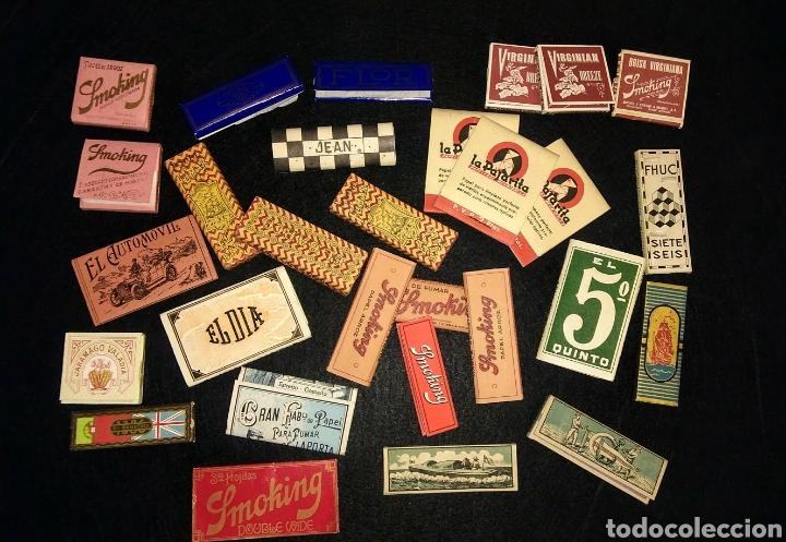 COLECCIÓN 29 LIBRITOS DE PAPEL DE FUMAR (Coleccionismo - Objetos para Fumar - Papel de fumar )
