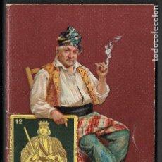Papel de fumar: ALCOY - LIBRETA DE PUBLICIDAD - PAPEL DE FUMAR - EL REY DE ESPADAS - SIN USAR. Lote 203967243