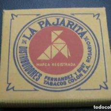 Papel de fumar: LIBRITO DE PAPEL DE FUMAR - LA PAJARITA - INDUSTRIA ARGENTINA. Lote 204229497