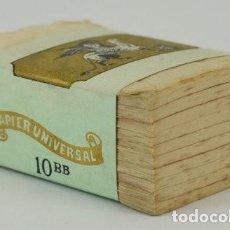 Papel de fumar: TACO DE 1000 HOJAS PAPIER UNIVERSEL // RARO //. Lote 204230005