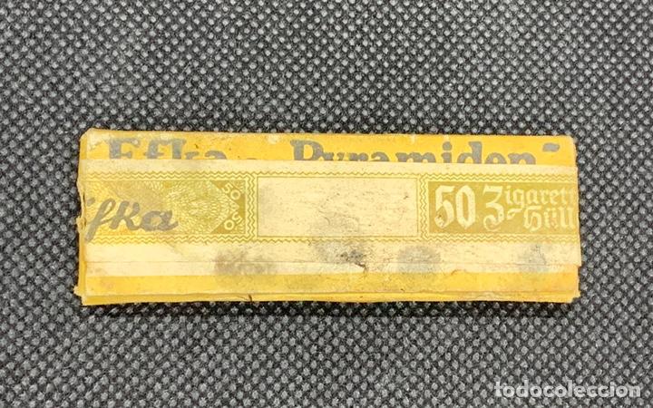 Papel de fumar: Papel de fumar alemán 2ª guerra mundial. - Foto 2 - 205817301