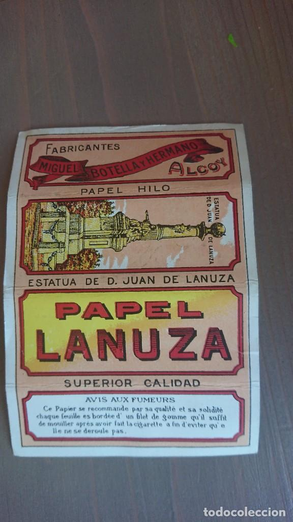 PPAEL DE FUMAR LANUZA (Coleccionismo - Objetos para Fumar - Papel de fumar )