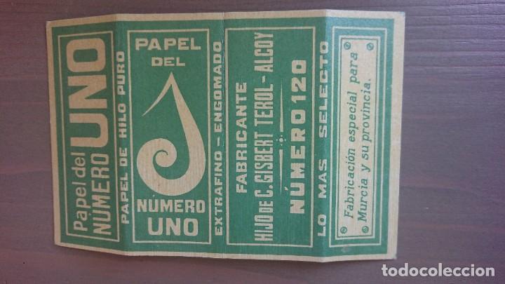 PAPEL DE FUMAR NUMERO UNO (Coleccionismo - Objetos para Fumar - Papel de fumar )