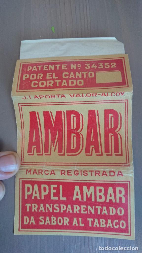 PAPEL DE FUMAR AMBAR (Coleccionismo - Objetos para Fumar - Papel de fumar )