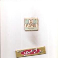 Papel de fumar: 2261. PAPEL DE FUMAR FLOR. REGALO SMOKING. Lote 206557537