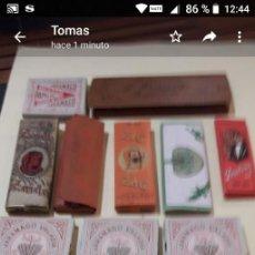 Papel de fumar: T-26.- LOTE DE -- 14 -- LIBRITOS DE PAPEL DE FUMAR , SIN USAR, HAY ALGUNOS REPETIDOS , VER FOTOS. Lote 207074360