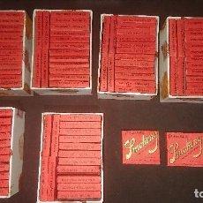 Papel de fumar: LOTE DE 96 LIBRITOS CUADRADOS SMOKING DE PAPEL DE FUMAR IGUALES EN MUY BUEN ESTAD . LEER DESCRIPCION. Lote 207149736