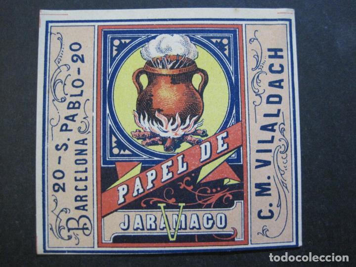 Papel de fumar: ENVOLTORIO PAPEL DE FUMAR-JARAMAGO-C.M. VILALDACH-VER FOTOS-(71.686) - Foto 2 - 208569365