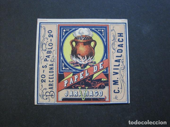 ENVOLTORIO PAPEL DE FUMAR-JARAMAGO-C.M. VILALDACH-VER FOTOS-(71.686) (Coleccionismo - Objetos para Fumar - Papel de fumar )