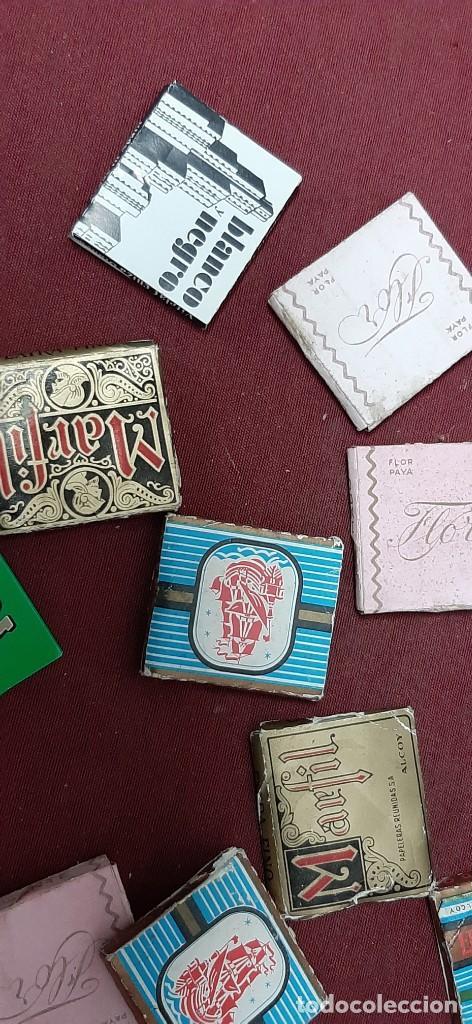 LOTE PAPEL DE FUMAR... LIBRITOS (Coleccionismo - Objetos para Fumar - Papel de fumar )