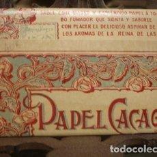 Papel de fumar: PAPEL CACAO - PORTAL DEL COL·LECCIONISTA. Lote 218215916