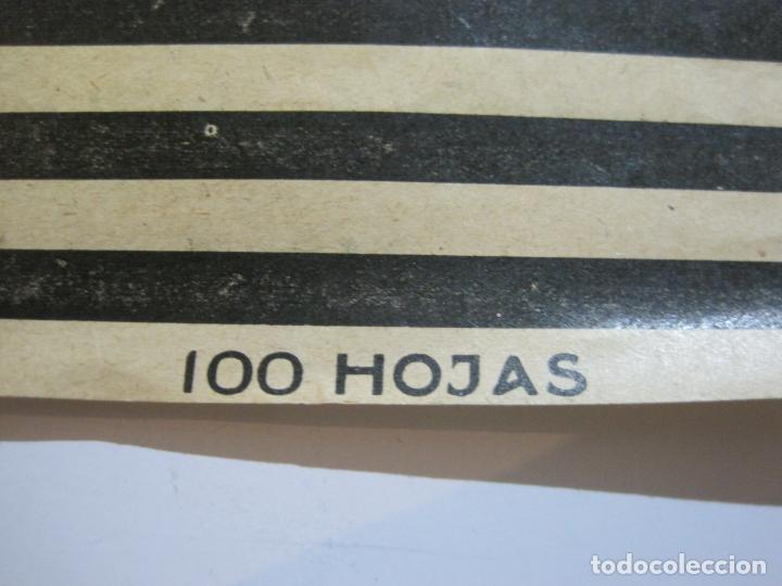 Papel de fumar: ENVOLTORIO PAPEL DE FUMAR-FOOT BALL-JOSE LAPORTA-VER FOTOS-(K-488) - Foto 3 - 218530478