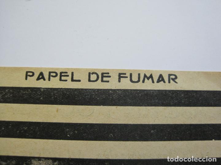Papel de fumar: ENVOLTORIO PAPEL DE FUMAR-FOOT BALL-JOSE LAPORTA-VER FOTOS-(K-488) - Foto 4 - 218530478
