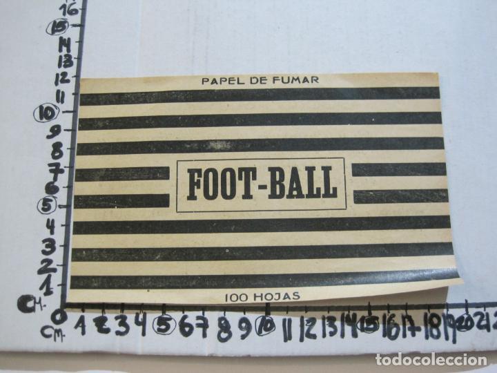 Papel de fumar: ENVOLTORIO PAPEL DE FUMAR-FOOT BALL-JOSE LAPORTA-VER FOTOS-(K-488) - Foto 6 - 218530478