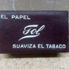 Papel de fumar: PAPEL GOL CAJA DE LIBRILLOS DE LIAR SUAVIZA EL TABACO CAJITA NUEVA.. Lote 218636145