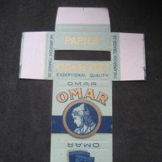 Papel de fumar: PAPEL DE FUMAR OMAR.. Lote 221958125