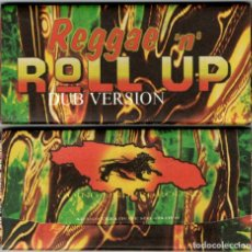 Papel de fumar: ROLL UP - NO 4, 1997. REGGAE 'N' ROLL UP - CIGARETTE ROLLING PAPERS AND TIPS. Lote 222234493