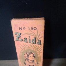 Papel de fumar: ZAIDA PAPEL DE FUMAR LEOPOLDO FERRANDIZ ALCOY. Lote 224950060