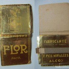 Papier à rouler: RARO PAPEL DE FLOR PAYÁ FABRICANTE E.PAYÁ MIRALLES ALCOY. Lote 225083118
