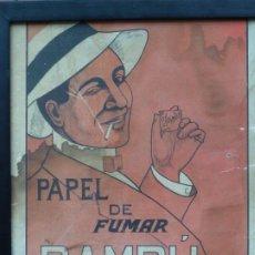 Papel de fumar: FURMAR - PAPEL BAMBU. Lote 227156374