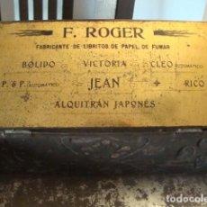 Papel de fumar: ROGER F.. Lote 229661375