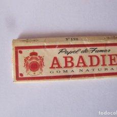 Papel de fumar: ANTIGUO PAPEL DE FUMAR ( GOMA NATURAL ) ABADIE. Lote 239875815