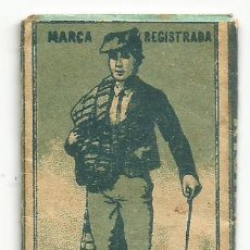 Papel de fumar: PAPEL DE FUMAR 1900S ANTIGUO LIBRITO LO PAGES JOSE GOMA PEDROL FABRICA LA RIBA ( TARRAGONA COMPLETO. Lote 248945770