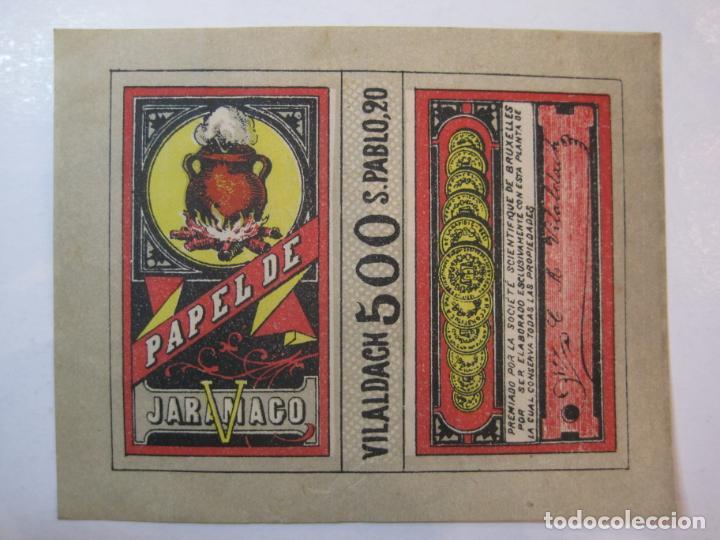 Papel de fumar: PAPEL DE FUMAR JARAMAGO-C.M. VILALDACH-VER FOTOS-(80.009) - Foto 2 - 258754505