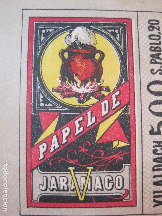 Papel de fumar: PAPEL DE FUMAR JARAMAGO-C.M. VILALDACH-VER FOTOS-(80.009) - Foto 3 - 258754505