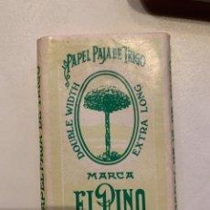Papel de fumar: PAPEL DE FUMAR EL PINO. Lote 262458475