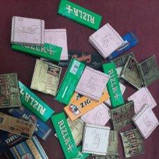 Papel de fumar: LOTE 50 LIBRITOS PAPEL DE FUMAR...SOL..BAMBU..ZAIDA..CARABELA..INDIO ROSA..JOSE LAPORTA.... Lote 264753084