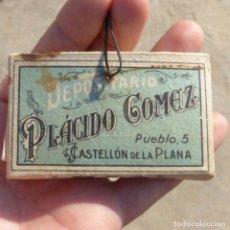 Papel de fumar: ANTIGUO LIBRILLO DE PAPEL DE FUMAR SANTA MAGDALENA , PLACIDO GOMEZ , CASTELLON. Lote 273184858
