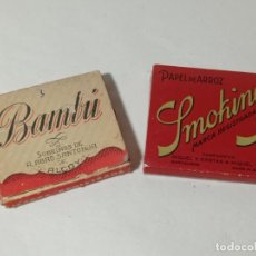 Papel de fumar: ORIGINAL NO COPIA. REF.AUTO. Lote 277228953