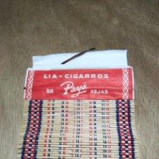 Papel de fumar: PAPEL DE FUMAR PAYÁ ESTERILLA. Lote 286295173