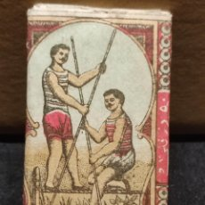 Papel de fumar: PAPEL DE FUMAR DJAMBAZ AÑOS 1930,S FRANCIA-ESTAMBUL. Lote 293867403
