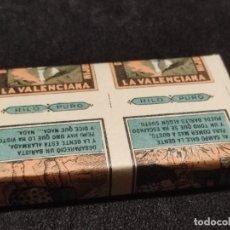 Papel de fumar: TACO DE 500 PAPEL DE FUMAR LA VALENCIANA (C). Lote 293874083