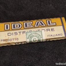 Papel de fumar: PAPEL FUMAR IDEAL ITALIA , AÑOS 1940,S. Lote 293874753