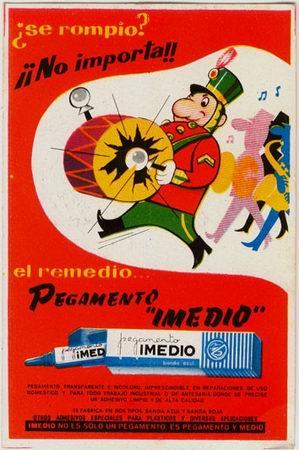 SECANTE DE PEGAMENTO IMEDIO (Coleccionismo - Papel Secante)