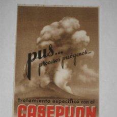 Coleccionismo Papel secante: SECANTE DE PUBLICIDAD FARMACÉUTICA DE CASEPUON IFABI, GRANADA. 12 X 21 CM. FARMACIA. Lote 27437485