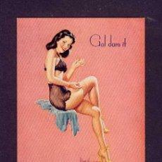 Coleccionismo Papel secante: SECANTE CHICA PIN-UP CON PUBLICIDAD DE BALANTE FAGNANO. Lote 77385447