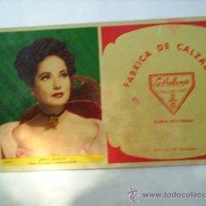 Coleccionismo Papel secante: SECANTE LA VALLENSE VALL DE UXO MERLE OBERON. Lote 9163885