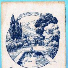 Coleccionismo Papel secante: PAPEL SECANTE. JABÓN CARMEN. LOS PERFUMES GUIDOR. SIN FECHA.. Lote 139525161