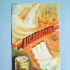 Coleccionismo Papel secante: SECANTE ALGARROSINA LABORATORIOS CIDAN-BENICARLO. Lote 11534160