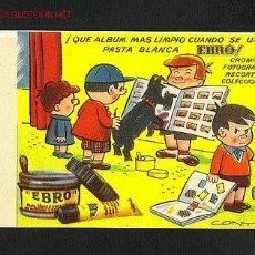 Coleccionismo Papel secante: SECANTE EBRO ILUSTRADO POR CONTI. Lote 14353917