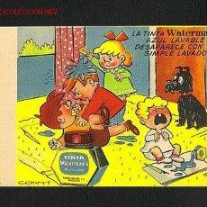 Collectionnisme Papier buvard: SECANTE WATERMANS ILUSTRADO POR CONTI. Lote 8667849